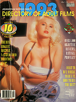 1993 Directory of Adult Films