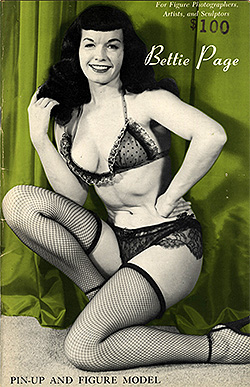 Betty Page - Pin-Up and Figure Model