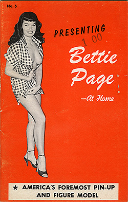 Presenting Bettie Page - At Home