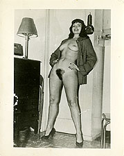 bphc4 - Betty Page Standing Full Frontal