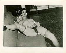 bphc6 - Betty Page Full Frontal Sofa