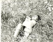 hip1 - 1960s Nude Hippie Girl in Field