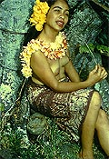 P4S49 Hawaiian Beauty 1950s 35mm