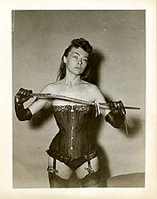 whip1 - Corseted Woman With Whip