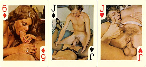Vinatge nude playing cards confirm. was