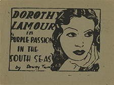 Dorothy Lamour in Purple Passion In The South Seas