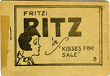 Fritzi Ritz in Kisses For Sale