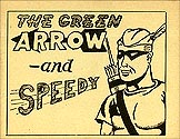 The Green Arrow and Speedy