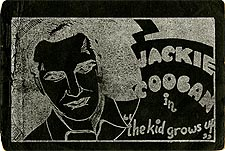 Jackie Coogan in The Kid Grows Up