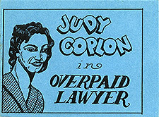 Judy Coplon in Overpaid Lawyer