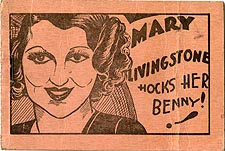 Mary Livingstone Hocks Her Benny