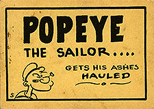 Popeye The Sailor Gets His Ashes Hauled